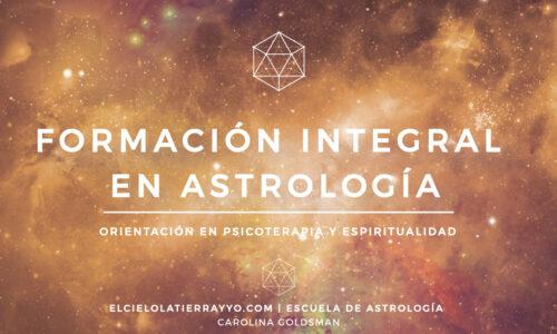 Formación Integral en Astrología | Nivel 1 Básico | Primer Año