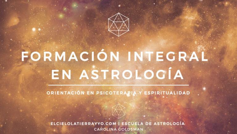 FORMACIÓN INTEGRAL EN ASTROLOGÍA | Psicología, Simbología y Espiritualidad
